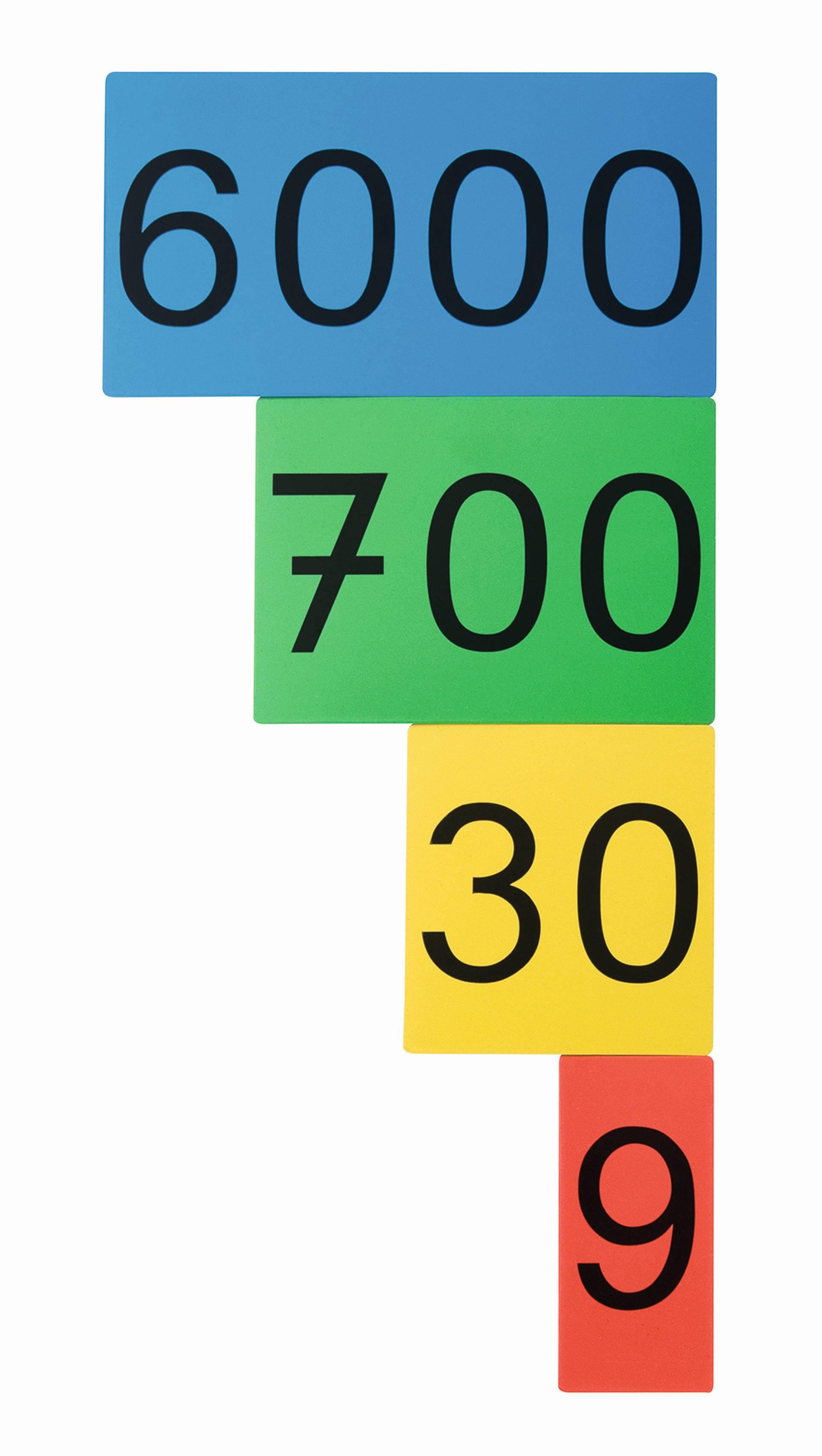 Magnetisch cijfer kaarten school concept b v for Meubilair engels
