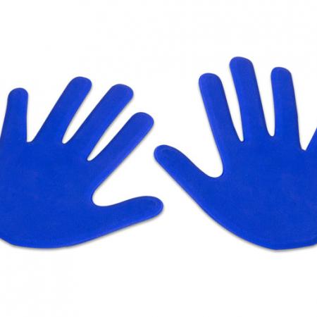 Anti slip hand, set van 2 blauw