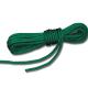 Gevlochten touw 10 m groen