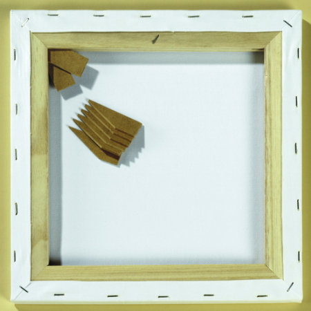 Blanco canvas 30x30 cm