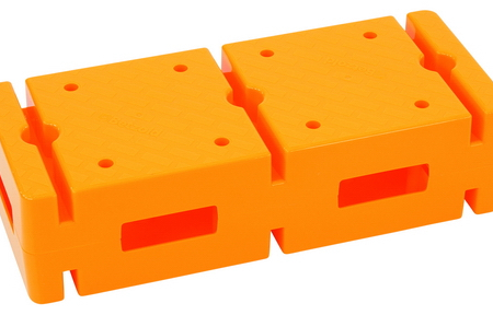 Baksteen, geel