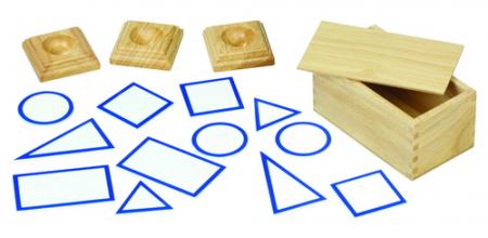 12 basissen van geometrische vormen