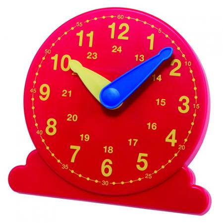 Leerling klok, diameter 13 cm, met gesynchroniseerde wijzers