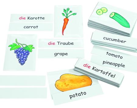 Beeldkaarten-fruit & groenten